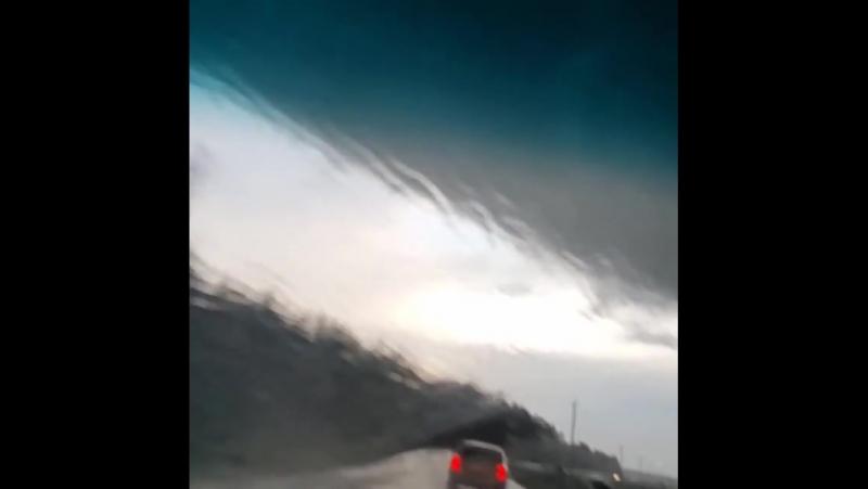 Попали в самую гущу событий. был и дождь и град и... Погода в городах России 10.06.2017
