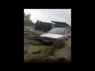 Наводнение в Кызыле (Республика Тыва, )