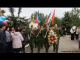 Молодая Гвардия Донбасса на митинге в сквере Коммунаров. В почетном карауле у Колокола Памяти и памятнике погибшим воинам. г. Го