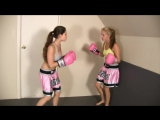 CALI LOGAN VS BLONDE BOXING