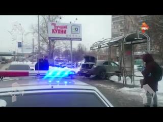 Автомобиль сбил трёх человек в Люберцах