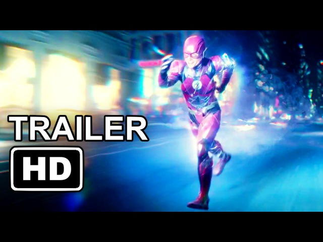 JUSTICE LEAGUE The Flash Character Trailer (2017) DC Superhero Movie HD