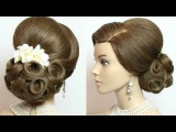 Bridal updo, hairstyles for long hair tutorial