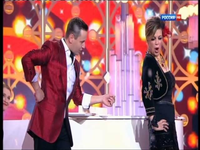 Любовь Казарновская и Витас bésame mucho (голубой огонек 2015 )