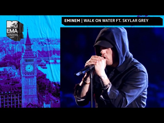 Eminem Performs 'Walk On Water' | MTV EMAs 2017 | Live Performance
