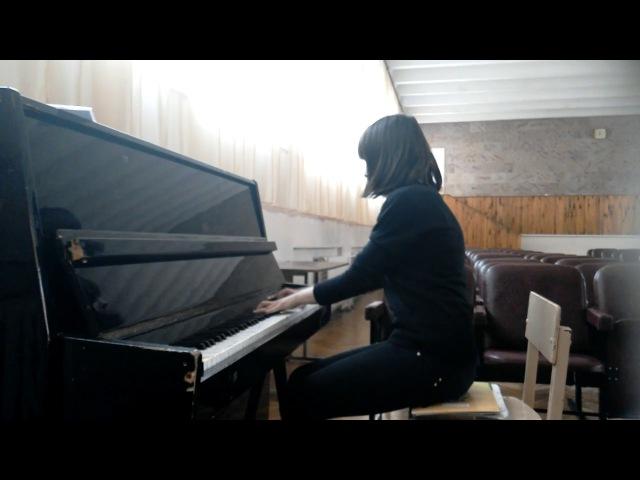Nadia Stadna (14) Chopin - Etude in C-sharp minor, Op. 10 No. 4