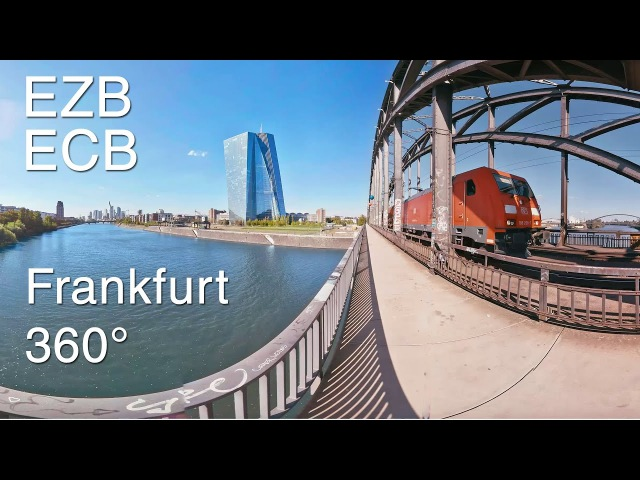 Virtual Reality Frankfurt | 360°-Video | EZB - Europäische Zentral Bank | Mainufer | Videoproduktion
