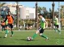 Футбольный видеотренер. Контроль мяча
