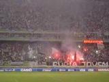 Engenhão - Botafogo x River Plate - Time entra em campo