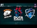 VP vs Vega RU #1 (bo3) Summit 8 Qualifier Minor 13.11.2017