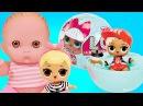 Пупсики Куклы ЛОЛ СЮРПРИЗЫ Открываем Меняют цвет писают плачут плюются L.O.Lrpri...