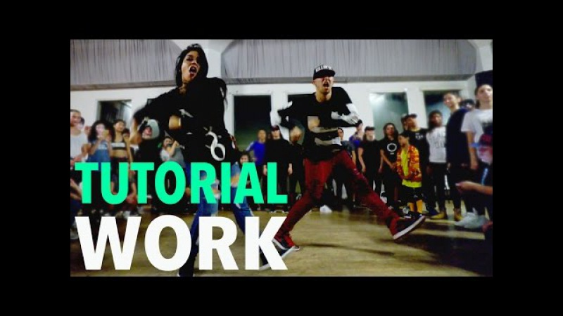 WORK - Rihanna Dance TUTORIAL | @MattSteffanina Choreography (DanceCoverContest)