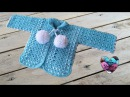 Gilet bébé crochet 1 2