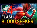 BLOODSEEKER FLASH  MONTAGE DOTA 2