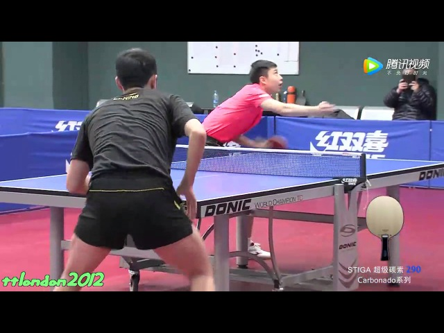 Xu Xin vs Yu Ziyang (Chinese Trials 2017)