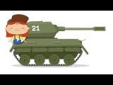 #Cartoni educativi per bambini in italiano-La Dottoressa #McWheelie aggiusta tutto e carro armato