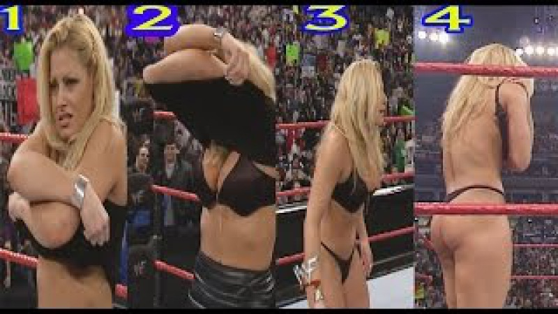 Wwe Raw Trish Stratus Forced To Strip By Vince McMahon Hd