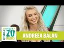 Andreea Balan Sens Unic Live la Radio ZU