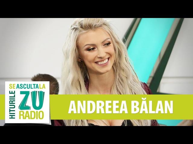 Andreea Balan - Sens Unic (Live la Radio ZU)