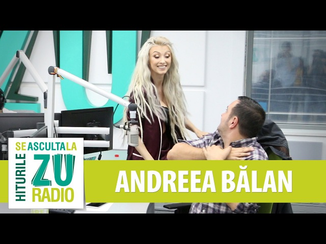 Andreea Balan - Let Me Love You (DJ Sanke Justin Bieber) (Live la Radio ZU)