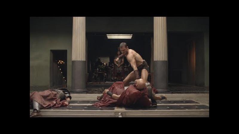 Спартак Кровь и Песок Спартак против людей Глабра (Часть 2)
