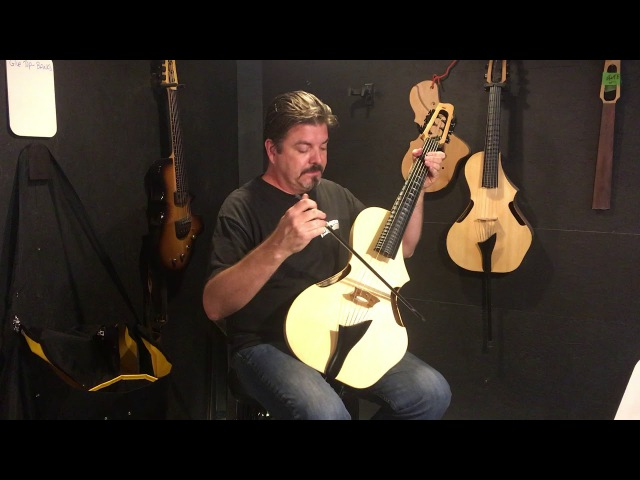Afternoon Spartan Thinline Acoustic GuitarViol with Jonathan