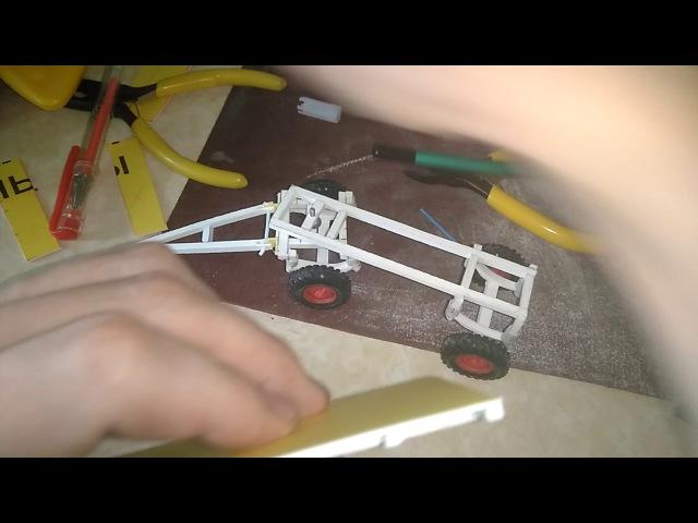 Конверсия масштабных моделей 1:43 , 2птс 4 делаем кузов часть 2: