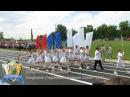 Слободзея 2 Школьная колонна на открытии спортивного летнего сезона 2017