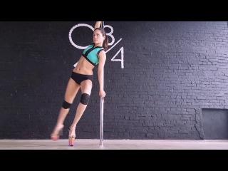 Melissa Mikhaylova pole dance exotic.