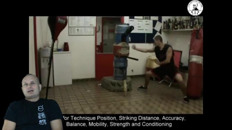 [BG] Оборудование для тренировок - Деревянный манекен