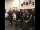 Хафтор Бьернсон приседает 370 кг