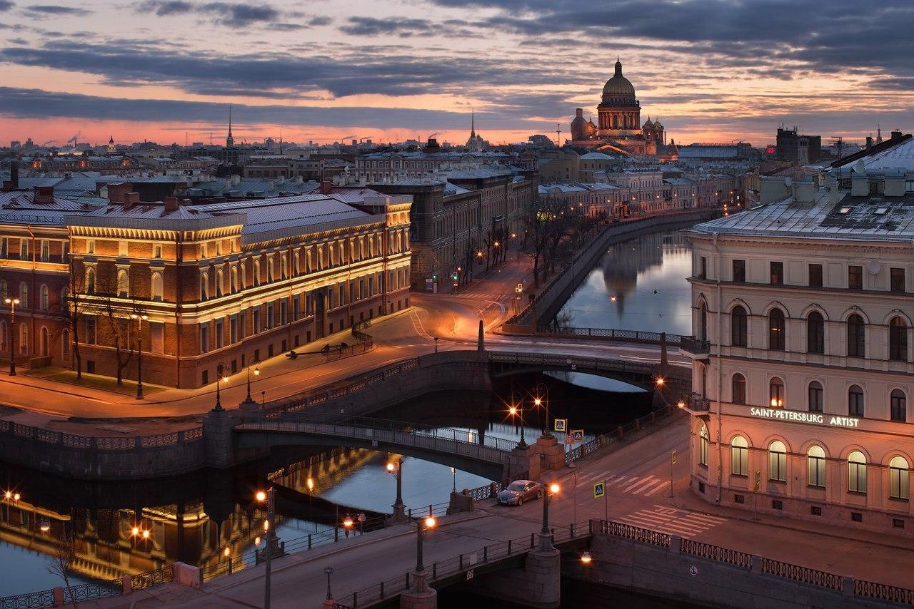 Самые-самые мосты Петербурга.    В Петербурге более 300 мостов. Каждый - особенный, но вот вам подборка совсем ос�...