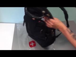 Обзор швейцарского рюкзака
