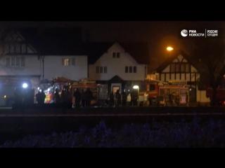 Взрыв в Великобритании