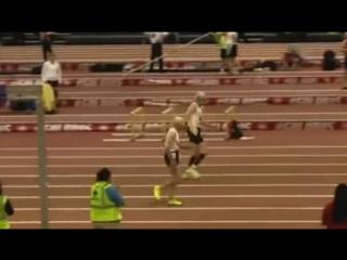 В США 99-летний бегун опередил своего соперника на пять сотых секунды