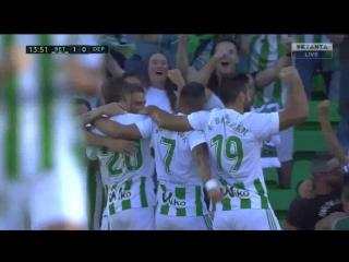 Бетис 1-0 Депортиво | Хоакин