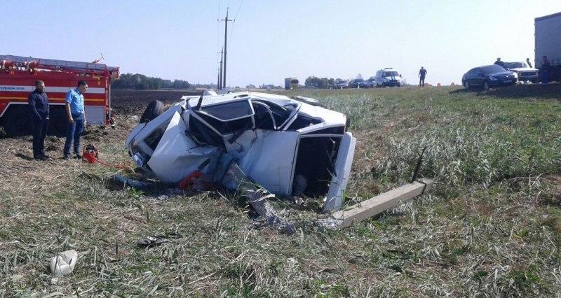 В Прикубанском районе погиб водитель из Черкесска