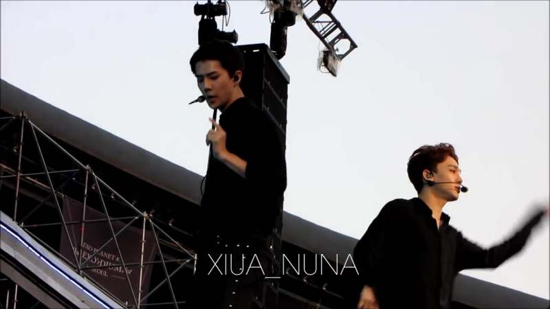 [FANCAM] 170527 EXO's Sehun - White Noise @ The EXO'rDIUM[dot] in Seoul D-1