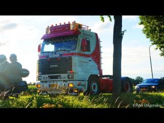 DAF XF Euro 6 & Scania 143H V8 450