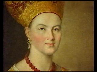 147-Иван Аргунов - Неизвестная крестьянка в народном костюме