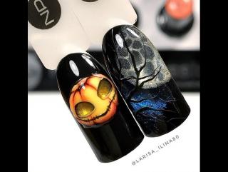 А Вы готовы к Хеллоуину? Идеи дизайнов с магнитной пудрой Magic Powder