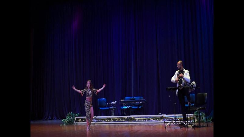 Кира. Табла Life на третьем международном фестивале Восточного Танца кубок Арбата. Ночь Тысячи и Одной Розы.