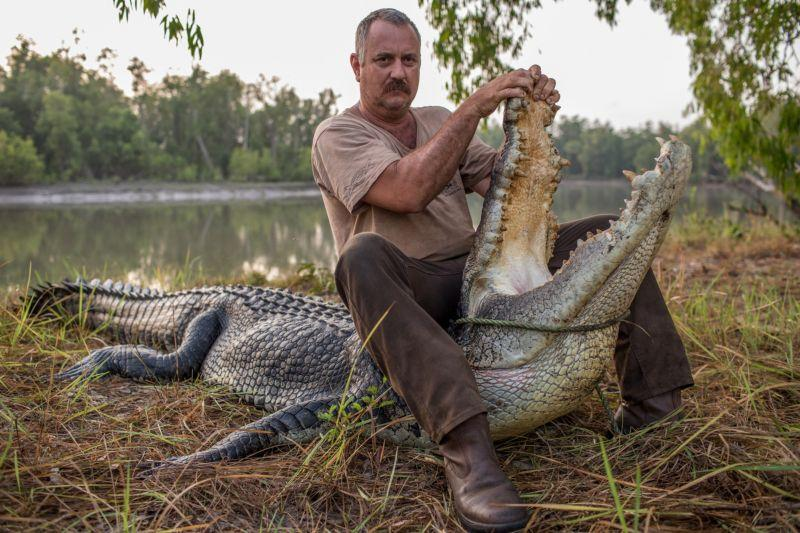 Из жизни австралийских охотников на гигантских крокодилов
