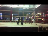 Jay from Santai Muay Thai wins by KO