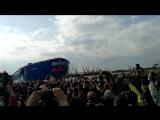 Спуск ледокола Сибирь. Балтийский завод