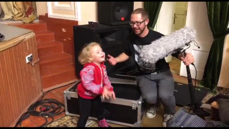 Как дописывали звук после каждой сцены на съемках нового видео для ПреАмбулы Звезда Полина Симонова @povarenokpolina ✌️💪👏