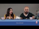 Итальянцы пробуют русские сладости