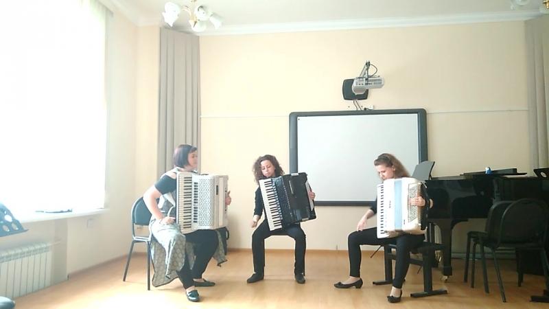 Элегантное трио - А. Лядов - Музыкальная табакерка , Р. Лагидзе - Сачидао