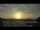 Das Lied der Deutschen Strophe 4 und 5