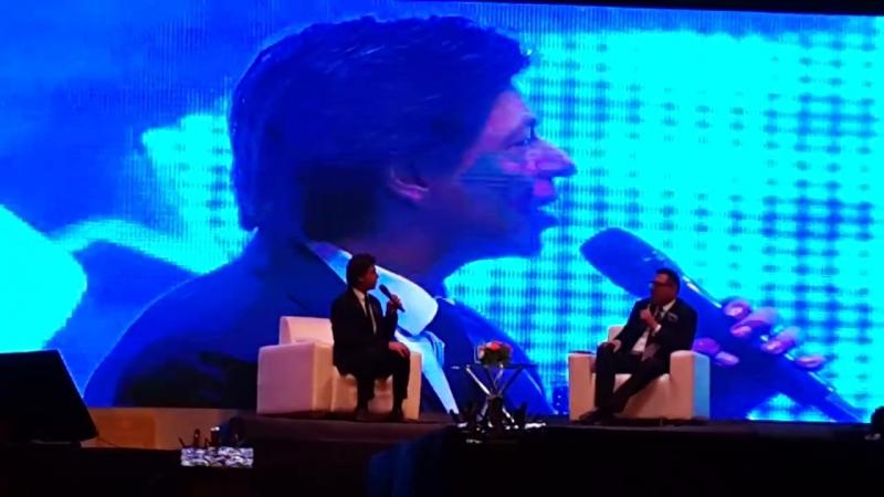 Bollywood superstar Shahrukh Khan in Ahmedabad at a Talkshow(2)